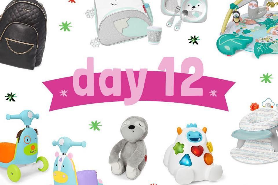 Skip Hop 12 Days of Giveaways