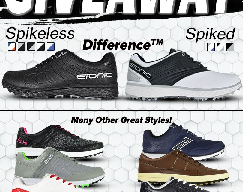 Etonic Golf Shoe Giveaway