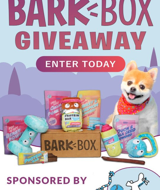 The Bark Box Giveaway