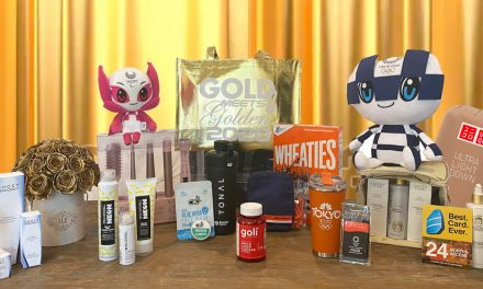 Gold Meets Golden Gift Bag Giveaway