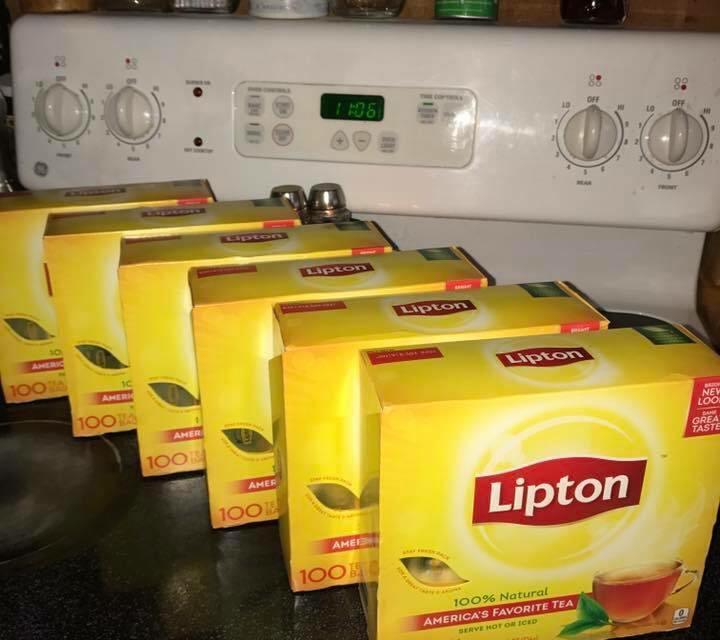 The Lipton Pledge Sweepstakes
