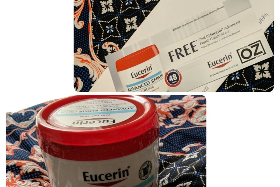Free Eucerin Advanced Repair from Dr. Oz