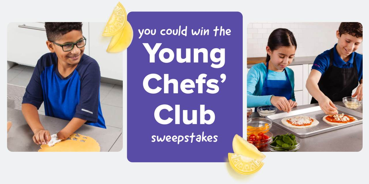 The Young Chefs Club Sweepstakes