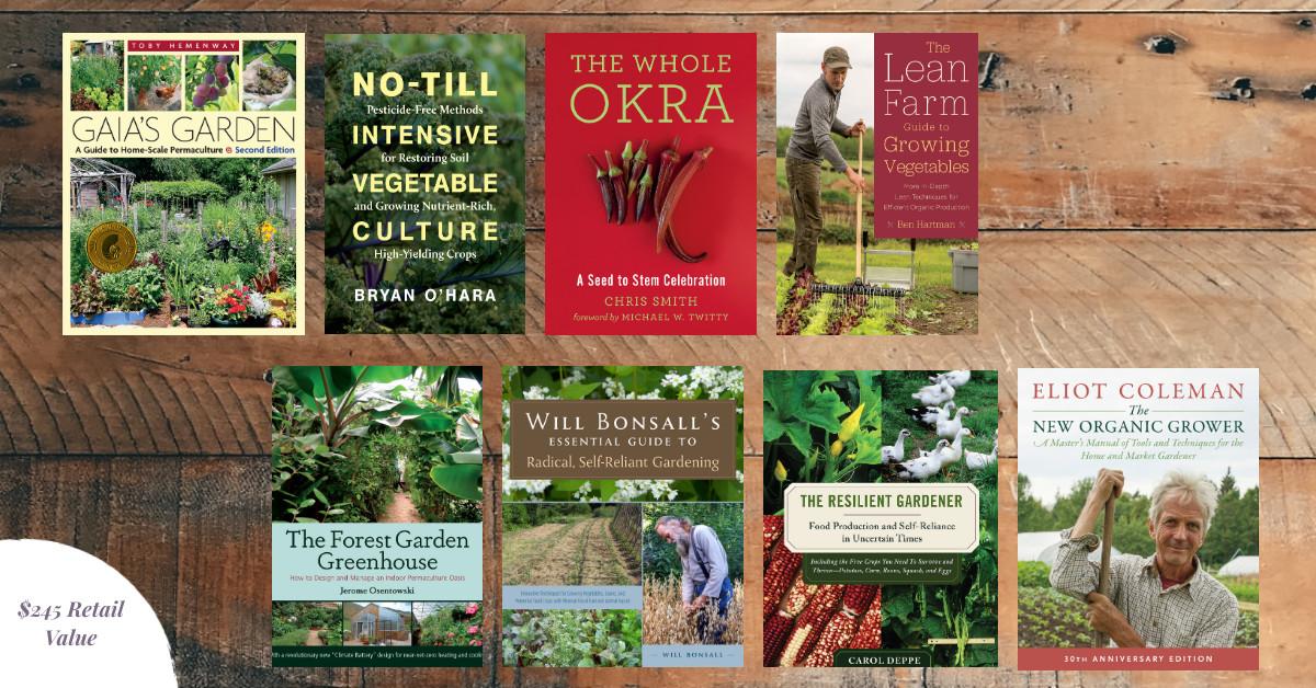 Gardening Books Giveaway