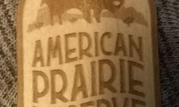 FREE American Prairie Wooden Sticker