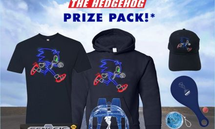 Sonic the Hedgehog Prize Pack Giveaway