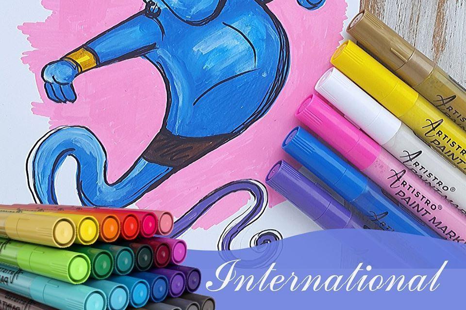 Artistro Paint Pens Giveaway