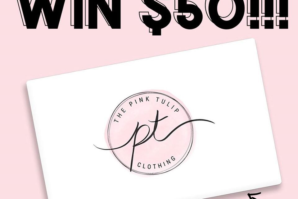 Pink Tulip Gift Card Giveaway
