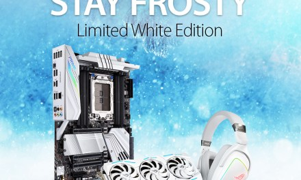ASUS ROG Limited White Edition Giveaway