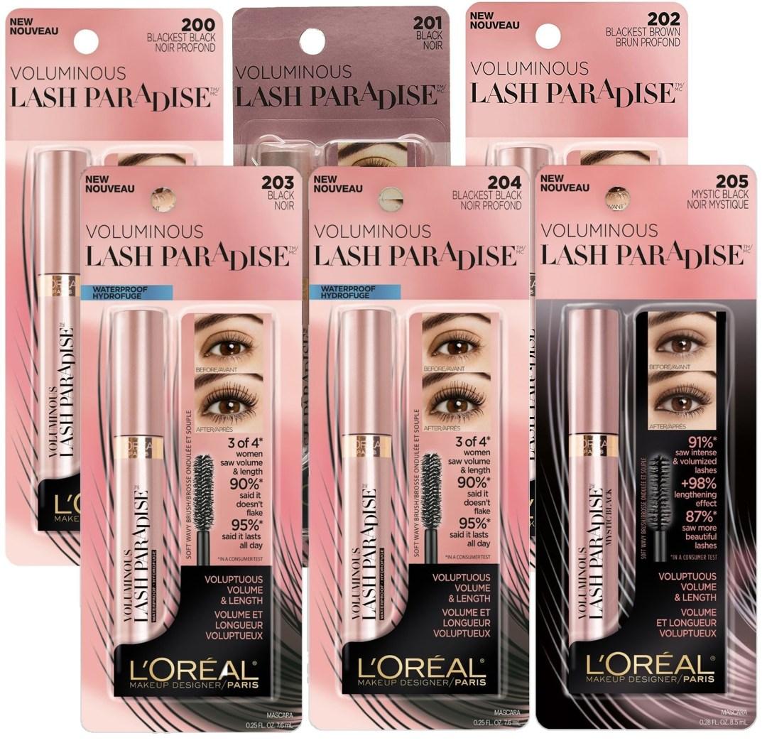free-l'oreal-lash-paradise-mascara-sample