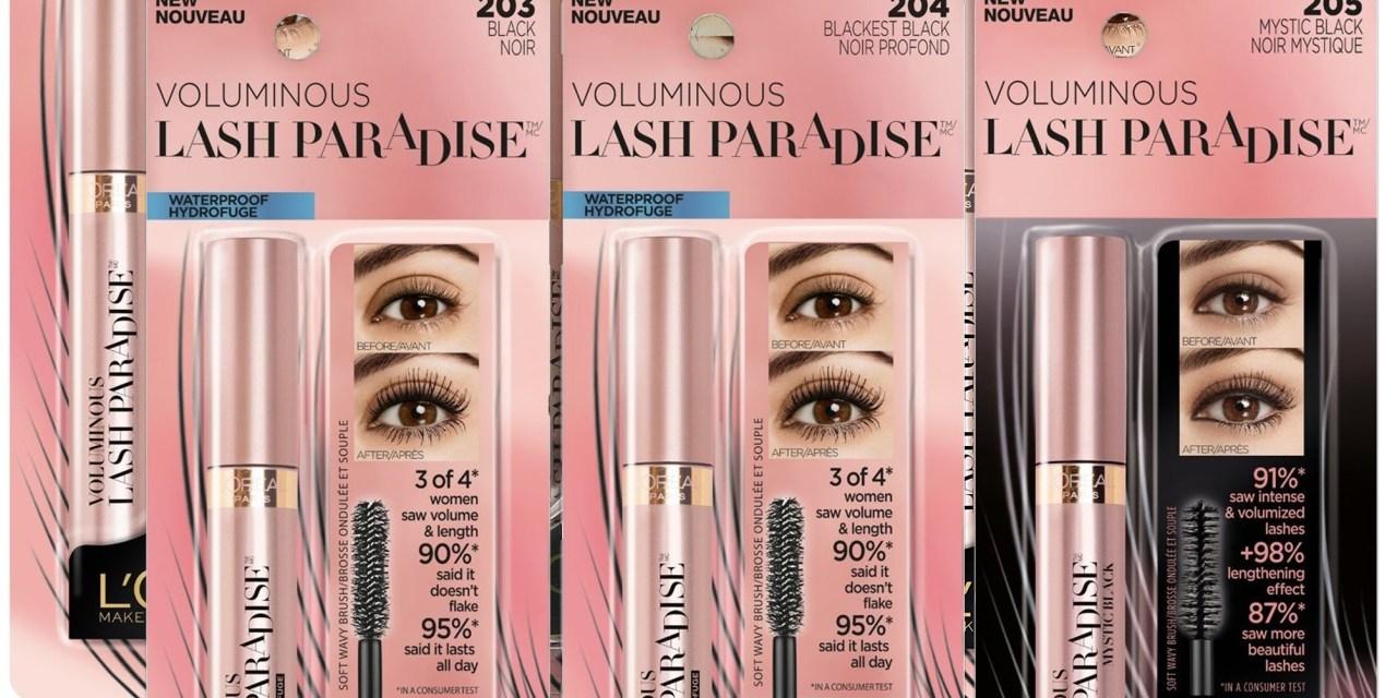 Free L'Oreal Lash Paradise Mascara Sample