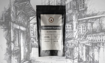 FREE Colombian Supremo coffee sample