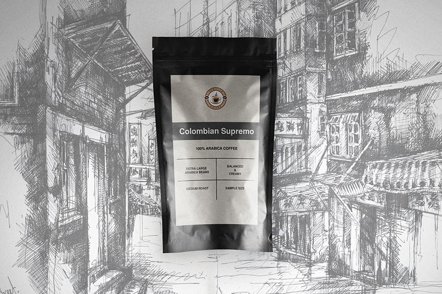 FREE Colombian Supremo coffee sample