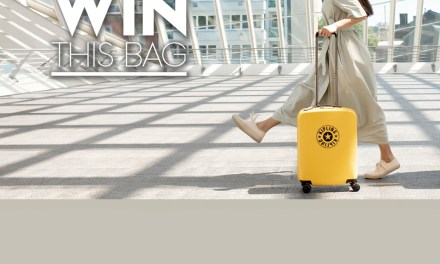 Free Kipling 4 Wheeled Hardshell Luggage Bag