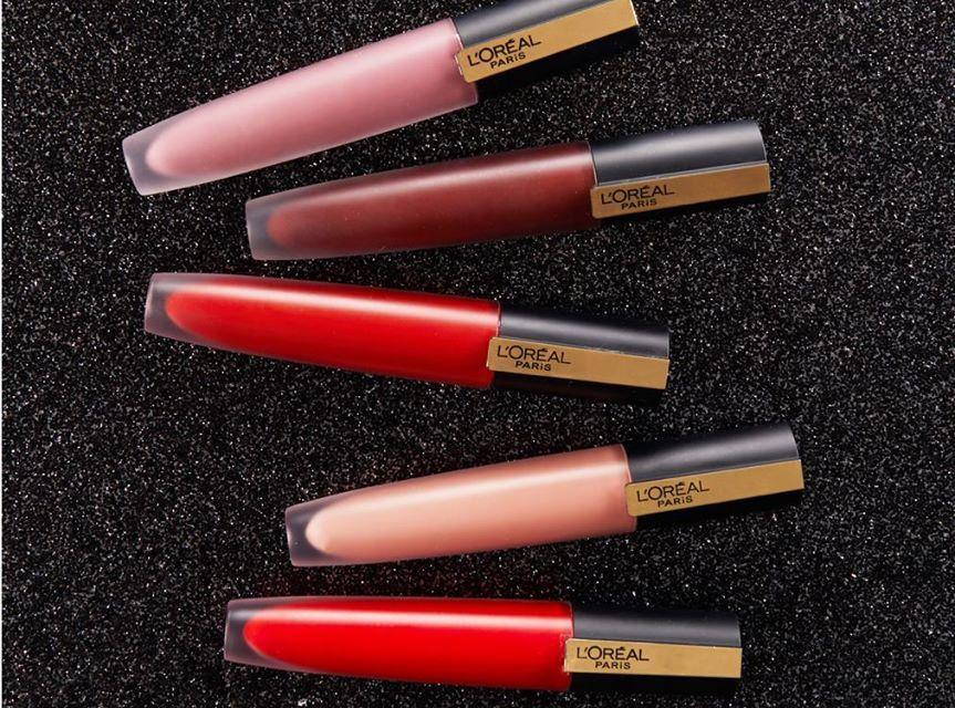 Free L'Oreal Matte Liquid Lipstick