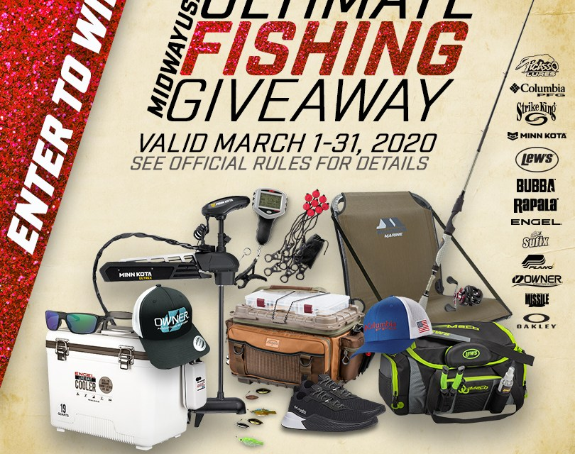 Midway's Ultimate Fishing Giveaway