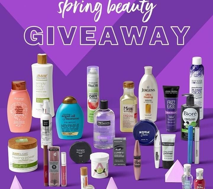 Meijer Spring Beauty Gift Basket Giveaway