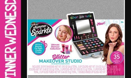 Sparkle Glitter Makeover Studio Giveaway