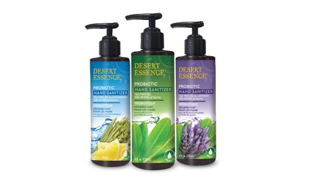 Free Desert Essence Hand Sanitizer