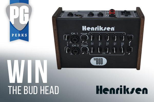 Henriksen Amplifiers The Bud Head Giveaway