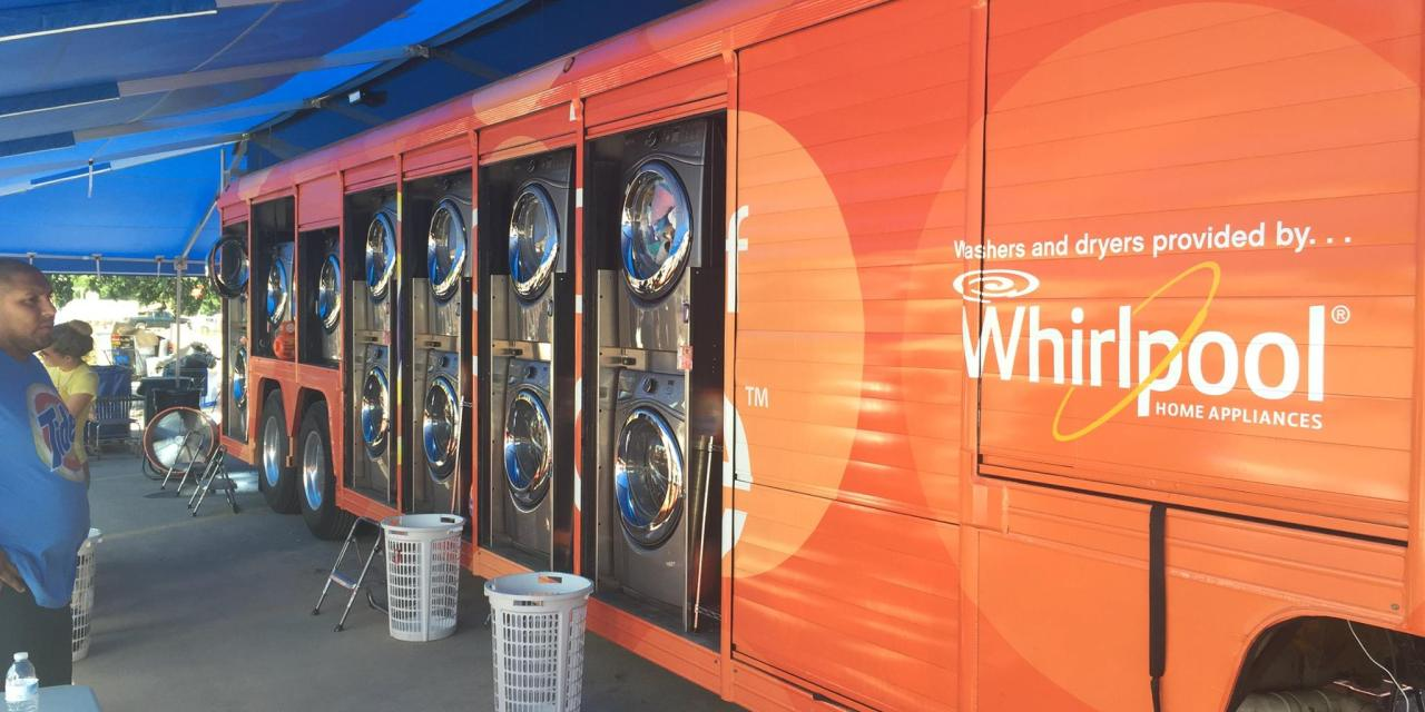 FREE Laundry Services from Tide