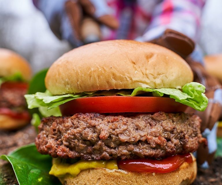 Free Back Yard Classic Burger