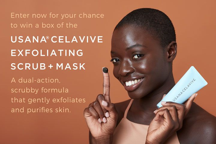 USANA Celavive Exfoliating Scrub Plus Mask Giveaway