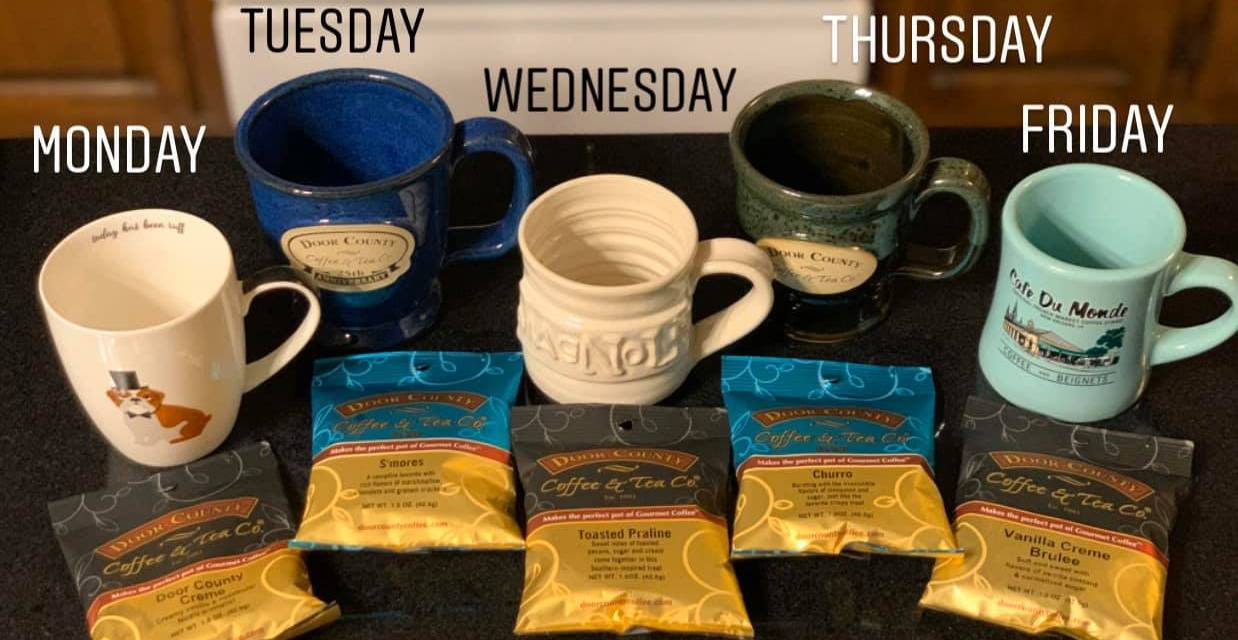 2020 Door County Coffee For A Year Contest