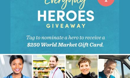 World Market Nomination Giveaway
