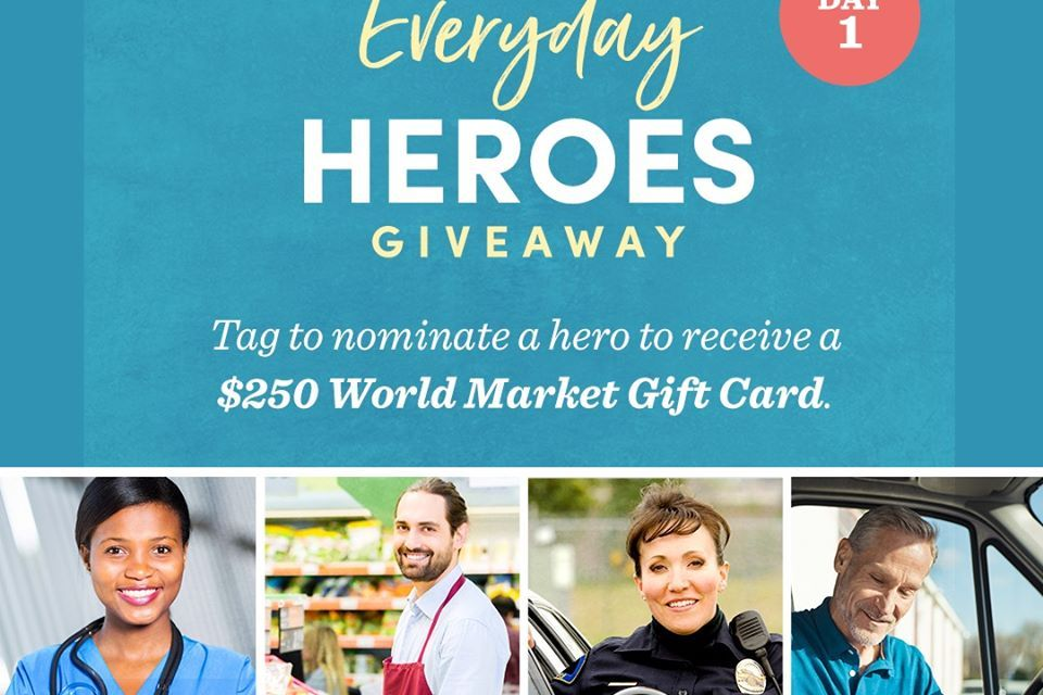 World Market Nomination Giveaway