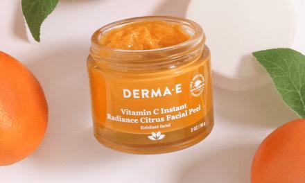 FREE Derma E Vitamin C Instant Radiance Citrus Facial Peel Sample