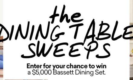 Bassett The Dining Table Sweepstakes