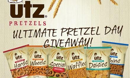 UTZ Ultimate Pretzel Day Giveaway