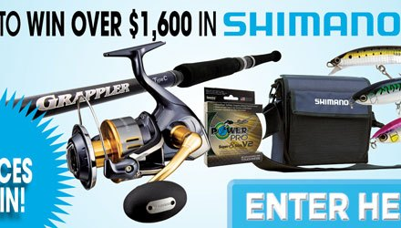Shimano Fishing Gear Giveaway