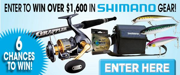 Shimano Fishing Gear Giveaway
