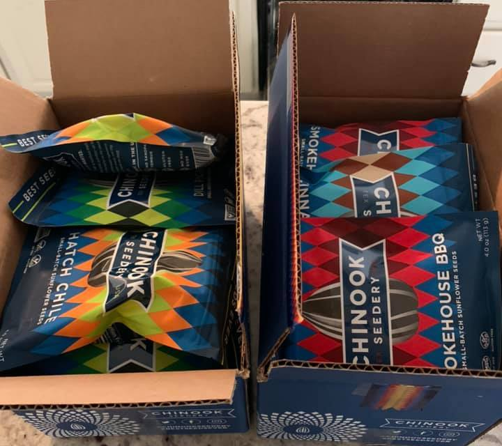 CHINOOK Seeds and Caddy Giveaway