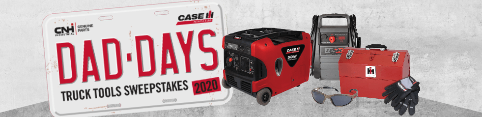 Case IH Dad Days Truck Tools Sweepstakes
