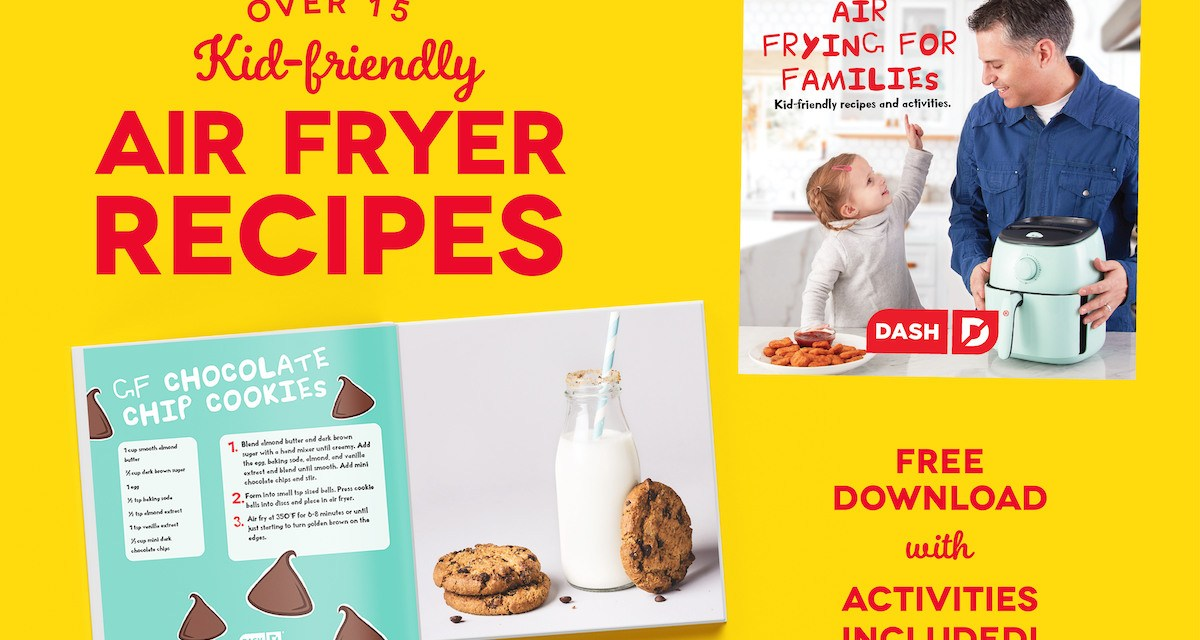The Air Frying for Kids Giveaway
