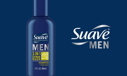FREE Suave Men 3-in-1 Citrus Rush Samples