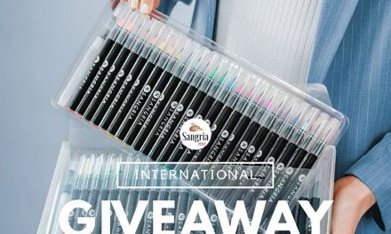 Sangria Watercolor Brush Pens Instagram Giveaway