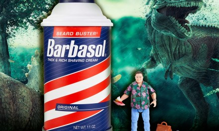 Barbasol Jurassic Collectible Giveaway