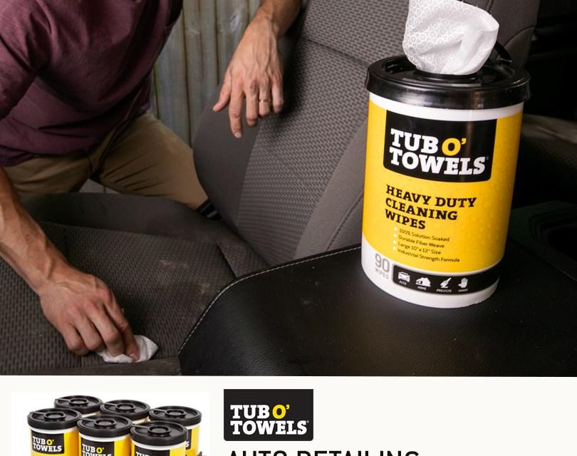 Tub O' Towels Auto Detailing Sweepstakes