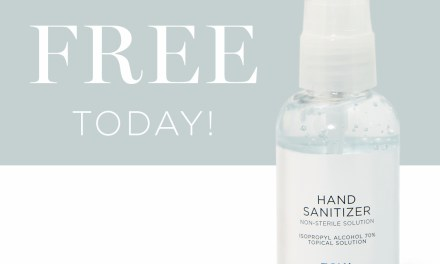 FREE 2oz Zoya Hand Sanitizer