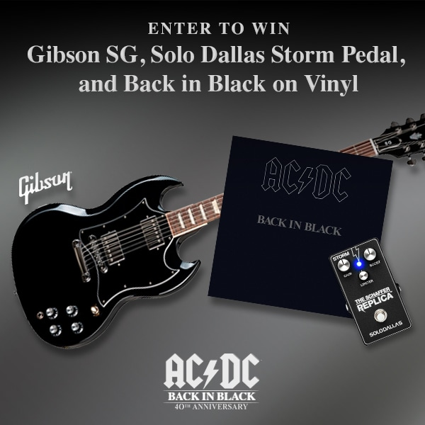 40th Anniversary Guitar and Pedal Giveaway