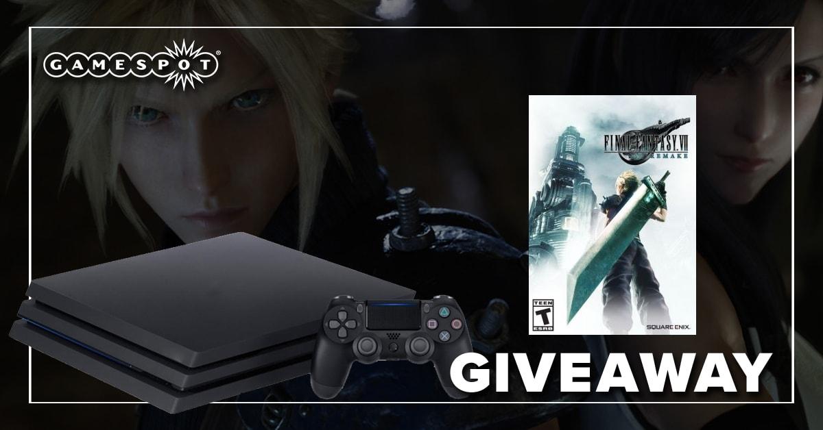 GameSpot's FFVII Remake Giveaway