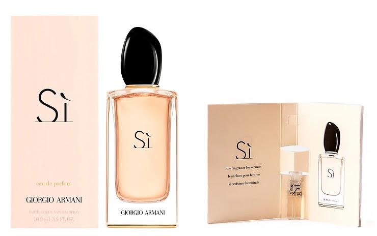 Free ARMANI BEAUTY Sì Eau de Parfum sample