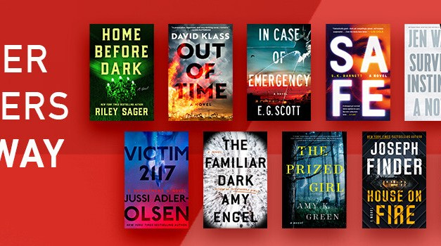 Summer Thrillers Giveaway