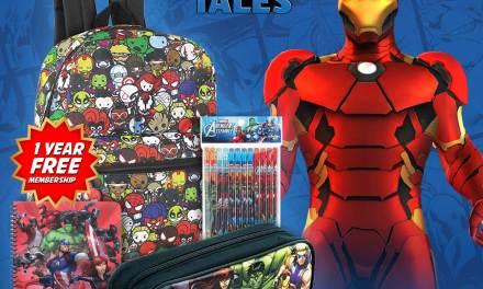Marvel Hero Talescelebrating School Sweepstakes