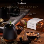The Pumpkin Spice Giveaway For Two Sweepstakes