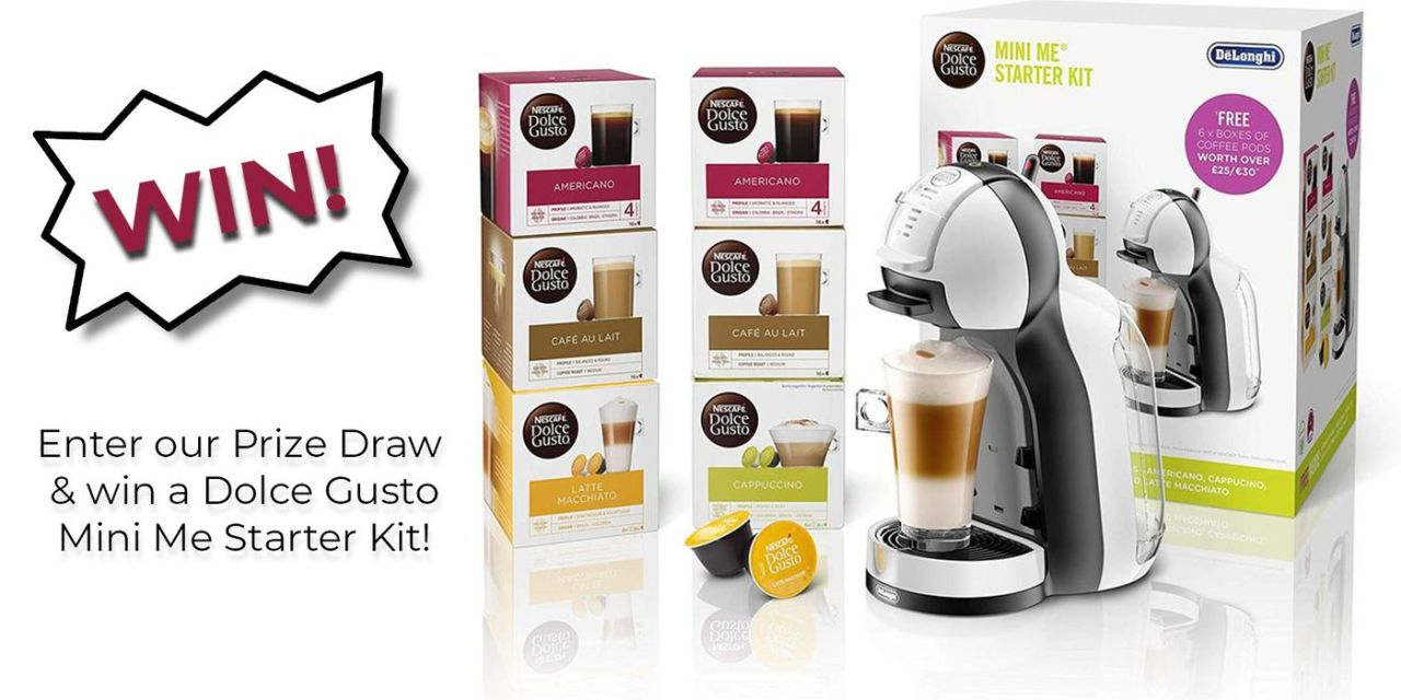 Win a Nescafe Dolce Gusto Mini Me Starter Kit